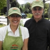 Hats and aprons for Natural Valley Kitchen