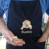 Apron for a dog lover