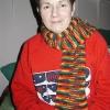 Midge's Rainbow Scarf -- my second scarf!