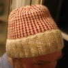 Seed Stitch Hat - 1